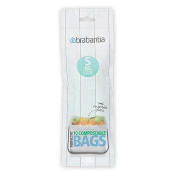 BRABANTIA atkritumu tvertņu maisiņi BIO, 6 l, (S) 10gb