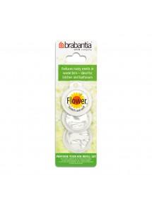 BRABANTIA atkritumu tvertnes smaržas kapsulas, 3 gb, Flower