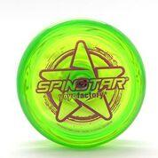YoYoFactory YO-YO SPINSTRAR iesācējiem/ar iemaņām, zaļš