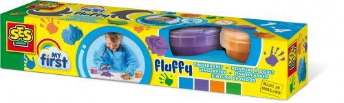 MY FIRST SES Fluffy pūkaina krāsa (Pirkstiņkrāsas)