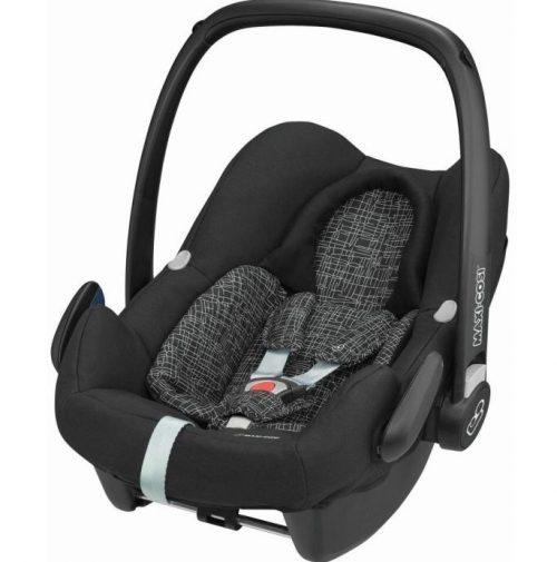 Maxi-Cosi ROCK bērnu autosēdeklītis, black grid ( augumam 45-75cm)