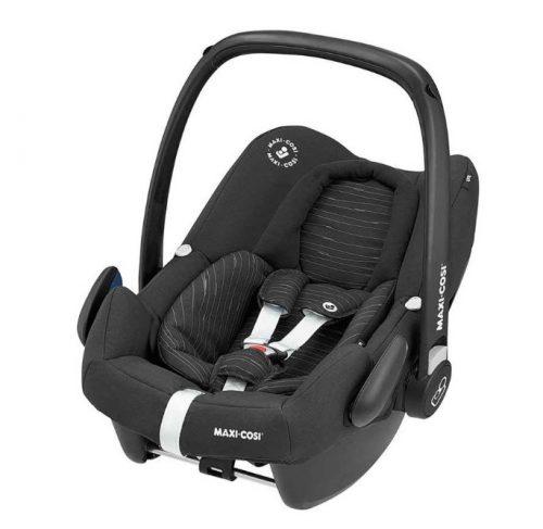 Maxi-Cosi ROCk bērnu autosēdeklītis, scribble black ( augumam 45-75cm)