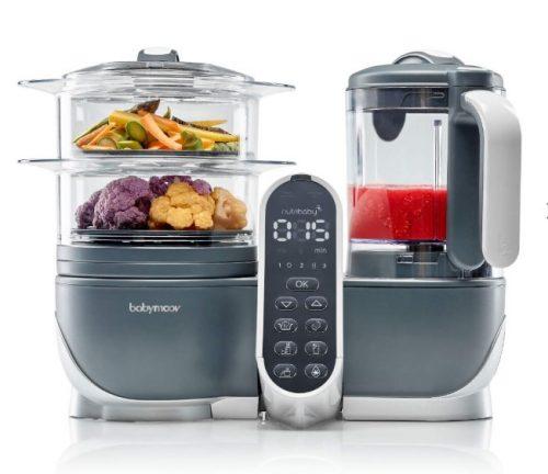 Nutribaby Plus virtuves kombains, Industrial Grey