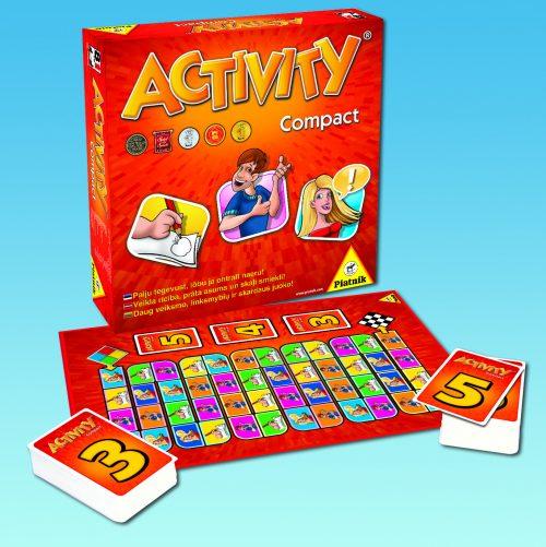PIATNIK Spēle Activity Compact (EST/LV/LT)