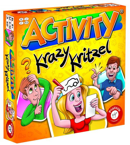 PIATNIK Spēle Activity Jestrie zīmējumi, multi val.