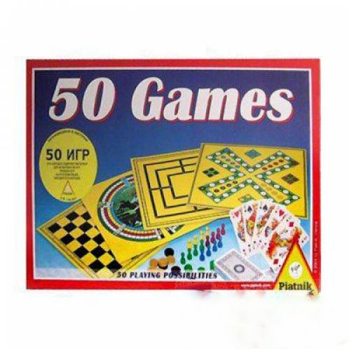 Piatnik Galda spēles 50 vienā(LV+RUS)