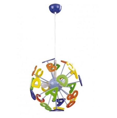 Rabalux ABC griestu lampa, bērnu istabai