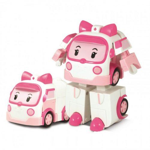 Robocar Poli Mini transformējams robots Amber