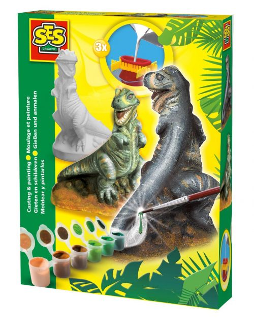 SES Ģipša komplekts dinozaurs T-Rex