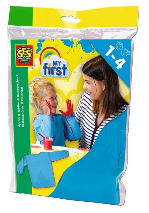 SES Bērnu priekšauts  darbam ar krāsām (1-4 g.)