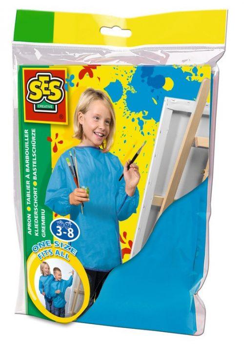 SES Bērnu priekšauts  darbam ar krāsām (3-8 g.)