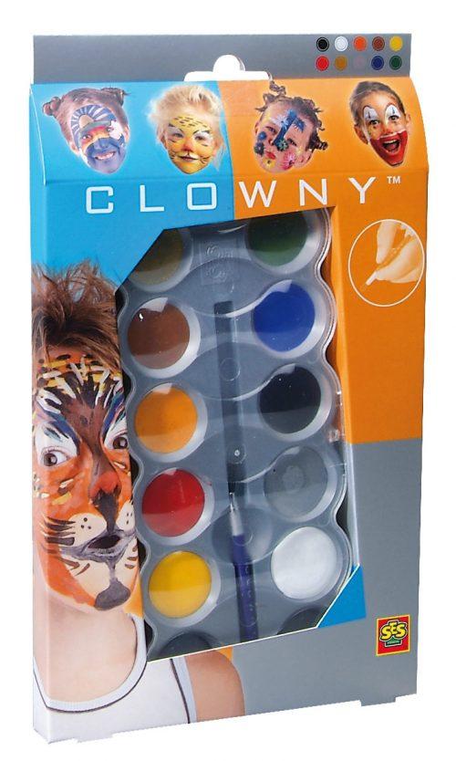 SES Clowny Sejas krāsas