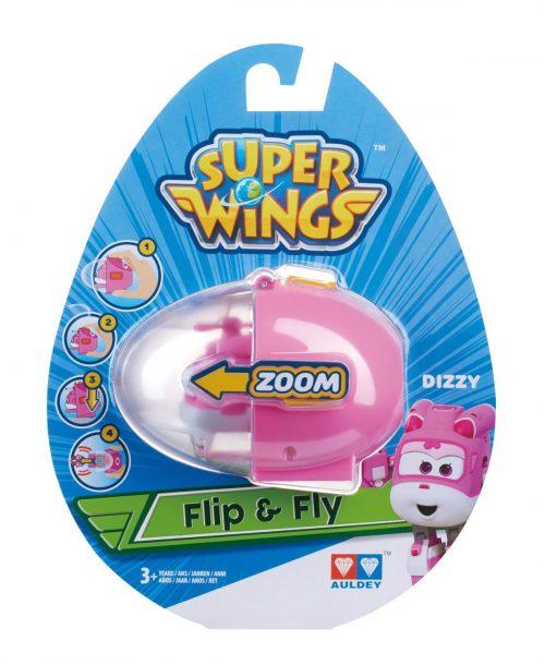 SUPER WINGS FLIP N FLY Lidmašīna- DIZZY