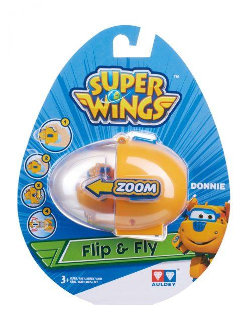 SUPER WINGS FLIP N FLY Lidmašīna (Donnie)