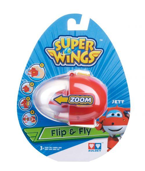 SUPER WINGS FLIP N FLY Lidmašīna (Jett)