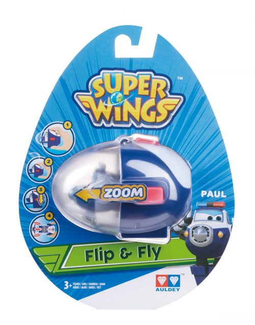 SUPER WINGS FLIP N FLY Lidmašīna (Paul)