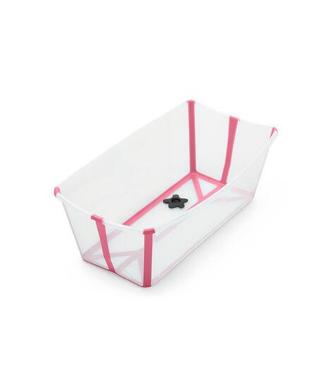 Stokke Flexi bath bērnu vanna, transparent pink