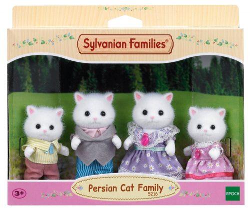 Sylvanian Families Persijas kaķu ģimene