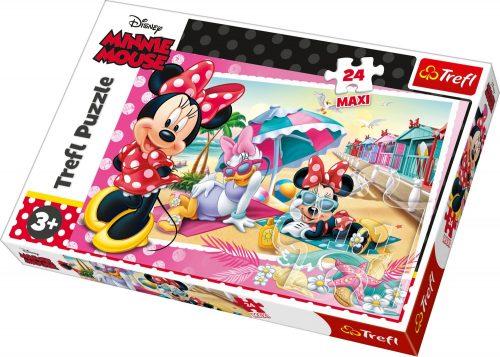 TREFL MAXI Puzle Minnie Mouse, 24