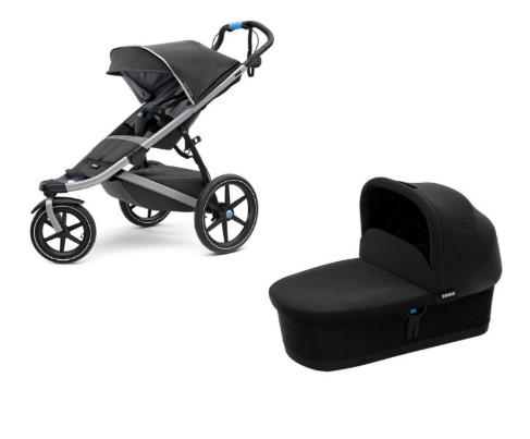Thule Bērnu rati Urban Glide2 Dark Shadow 2 in 1