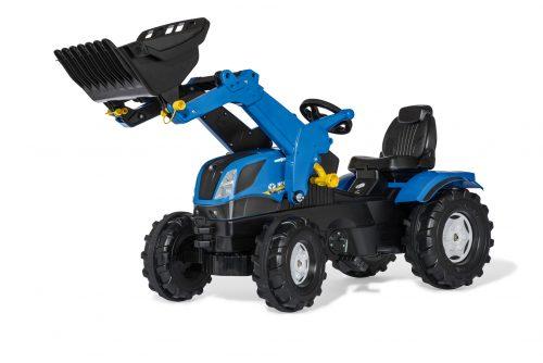 Traktors ar frontālo kausu rollyFarmtrac New Holland (3-8g.)