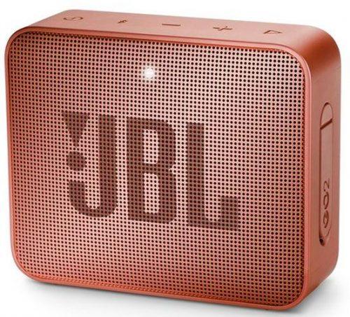 JBL ūdensizturīga portatīvā skanda JBL Go, brūna