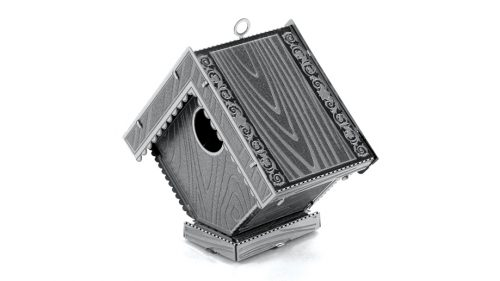 Juguetronica MOCK UP FOR BIRDS 3D metāla konstruktors Putnubūris