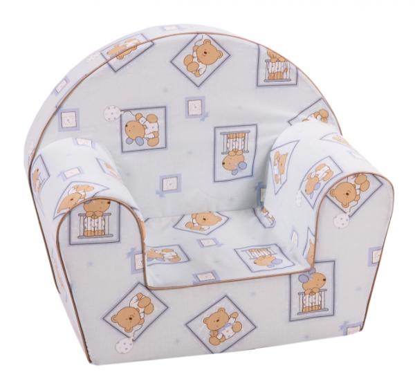Delta Trade DT8 mīksts sēžamkrēsls bērniem