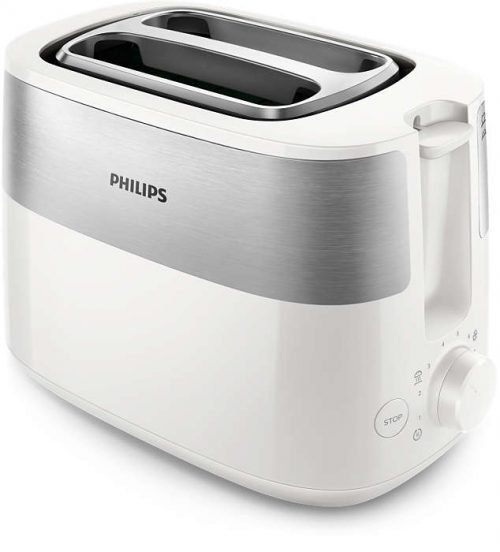 PHILIPS Daily Collection Tosteris, 830 W (balts)
