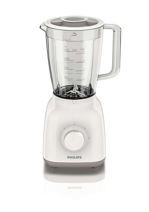 PHILIPS Daily Collection Blenderis 400W balts