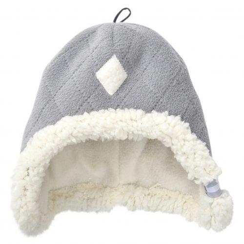 Akcija! Lodger Hatter Fleece Scandinavian cepure, 6-12 mēn., Greige