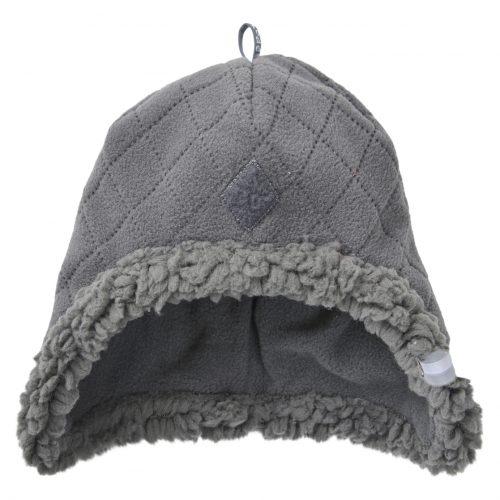 Lodger Hatter Fleece Scandinavian cepure, 3-6 mēn., Coal