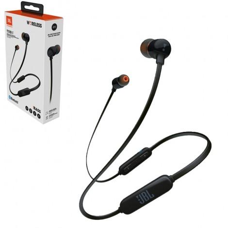 JBL in-ear austiņas ar Bluetooth, melnas