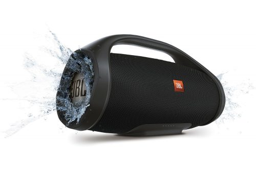 JBL BoomBox portatīvā skanda (melns)