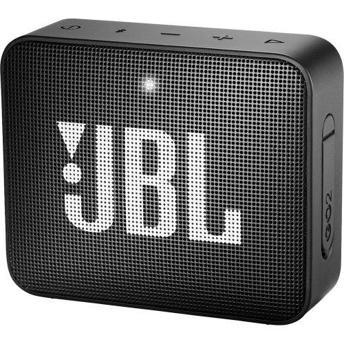 JBL ūdensizturīga portatīvā skanda JBL Go, melna