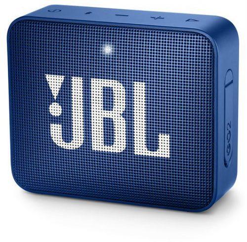JBL ūdensizturīga portatīvā skanda JBL Go, zila