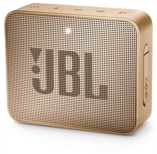 JBL ūdensizturīga portatīvā skanda JBL Go, šampanieša