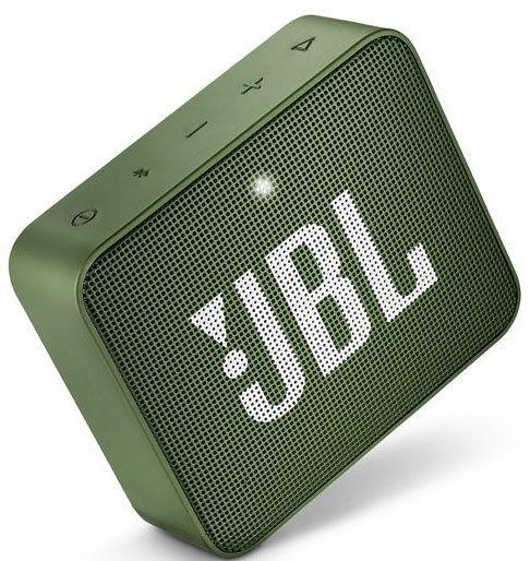 JBL ūdensizturīga portatīvā skanda JBL Go, zaļa