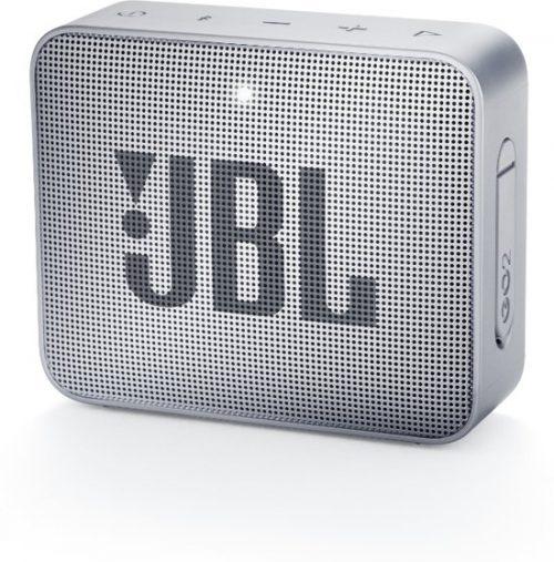 JBL ūdensizturīga portatīvā skanda JBL Go, pelēka