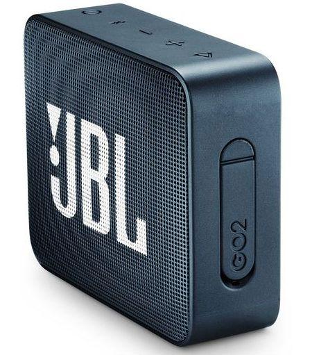 JBL ūdensizturīga portatīvā skanda JBL Go, tumši zila