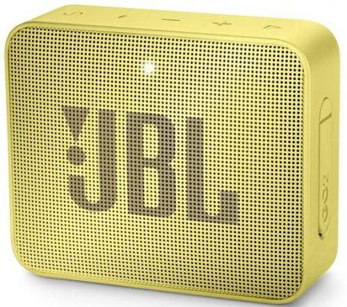 JBL ūdensizturīga portatīvā skanda JBL Go, dzeltena