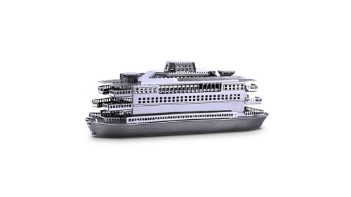 Juguetronica FERRY MODEL 3D metāla konstruktors Kuģis