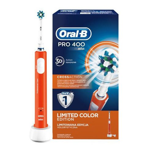 BRAUN elektriskā zobu birste PRO 400, orange