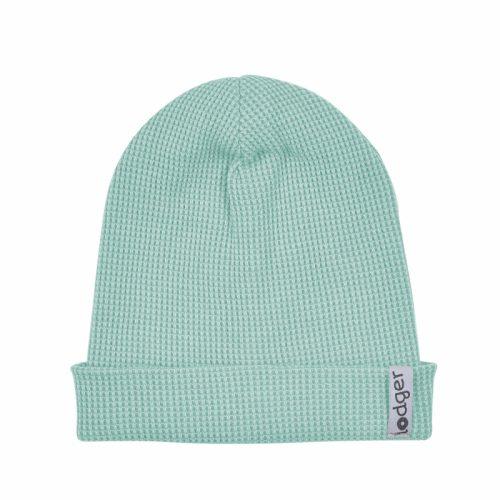 Lodger Beanie Ciumbelle bērnu cepurīte, Silt green, 6-12 mēn.