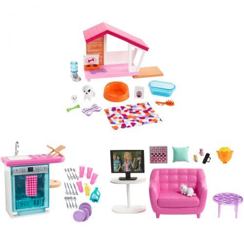 Barbie® mēbeļu papildus komplekts ( dažādi veidi)