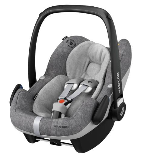 Maxi-Cosi PEBBLE PRO i-Size bērnu autosēdeklītis, nomad grey (0-12mēneši)