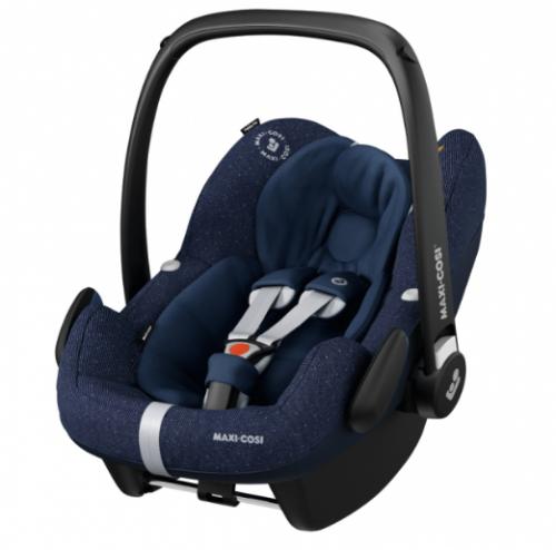 Maxi-Cosi PEBBLE PRO i-Size bērnu autosēdeklītis, sparkling blue (0-12mēneši)