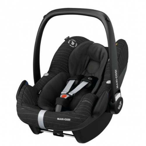 Maxi-Cosi PEBBLE PRO i-Size bērnu autosēdeklītis, scribble black  (0-12mēneši)