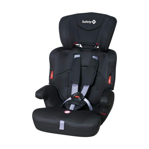 Safety 1St EVER SAFE bērnu autosēdeklītis, full black  (9-36kg)