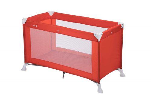Safety 1st ceļojumu gultiņa SOFT DREAMS, red lines